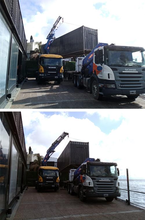 Reposicionamiento de Container de 40 pies